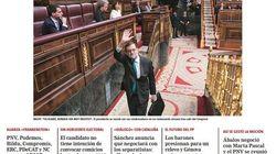 Rajoy cae y la prensa conservadora rabia: