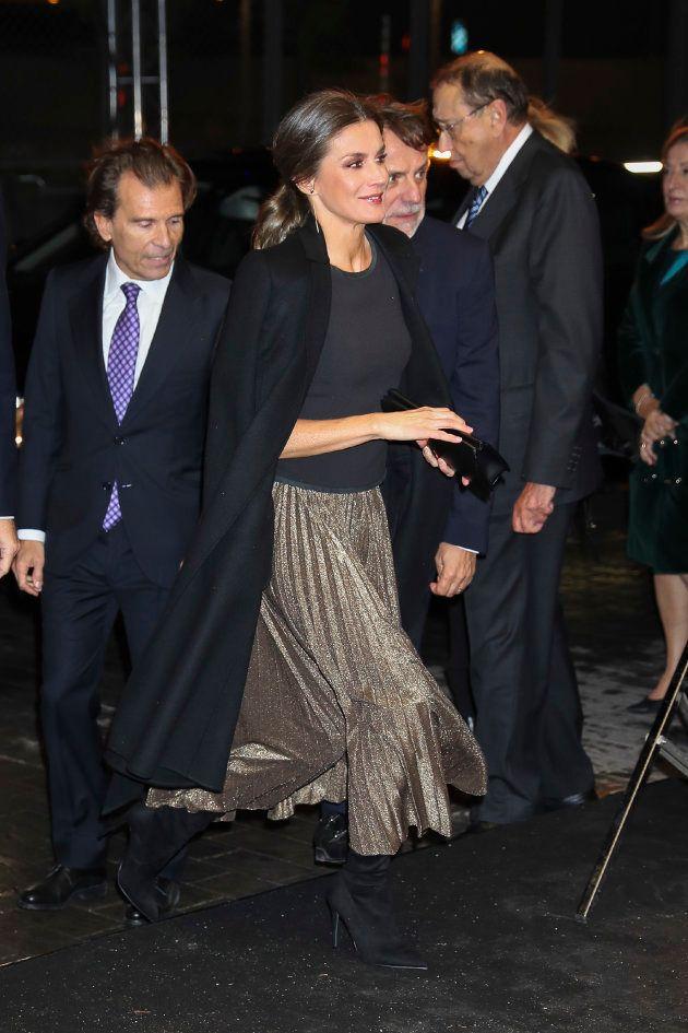 Las fotos de la reina Letizia en el 20º aniversario de 'La
