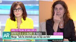 Tensión en la entrevista de Ana Rosa a la madre de Nadia: