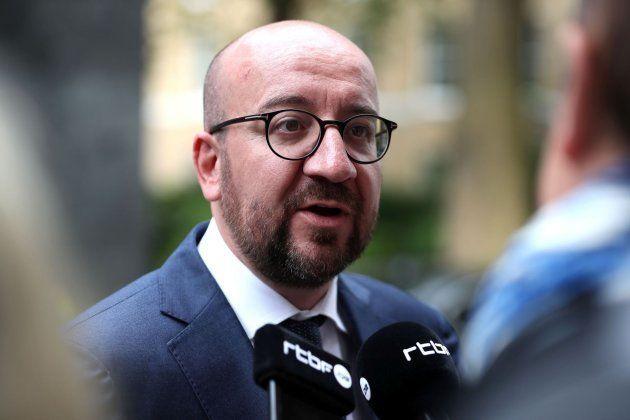 El primer ministro belga, Charles