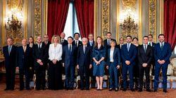 El nuevo Gobierno de M5S y Liga con Conte al frente toma posesión en