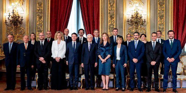 El nuevo Gobierno italiano, con el presidente