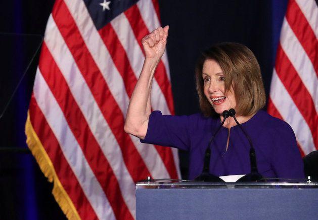 Nancy Pelosi valora los