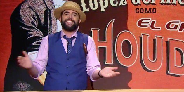 El humorista Dani Mateo, en el programa 'El