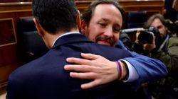 Podemos mantiene su apoyo a Pedro Sánchez pese a no entrar en el