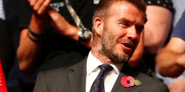 David Beckham en Australia el 27 de