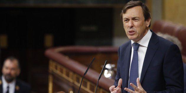 Rafael Hernando critica al presidente del Gobierno porque