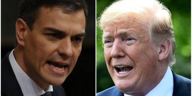 Ya sabemos cuándo coincidirán Pedro Sánchez y Donald