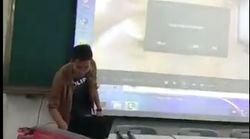 La mayor pesadilla de un profesor, hecha realidad: lo de la pantalla es lo que