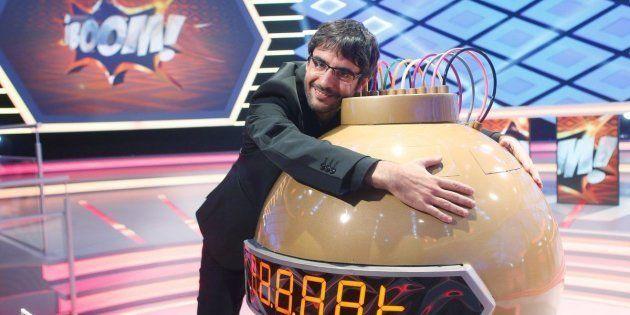 Juanra Bonet, presentador de 'Boom' en Antena