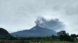 El Volcán de Fuego vuelve a entrar en erupción en