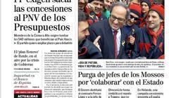 El cabreo del PP con el PNV domina las portadas del lunes 4 de