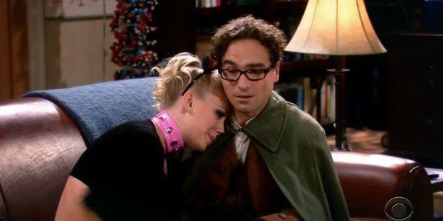 Un fotograma de la primera temporada de 'The Big Bang
