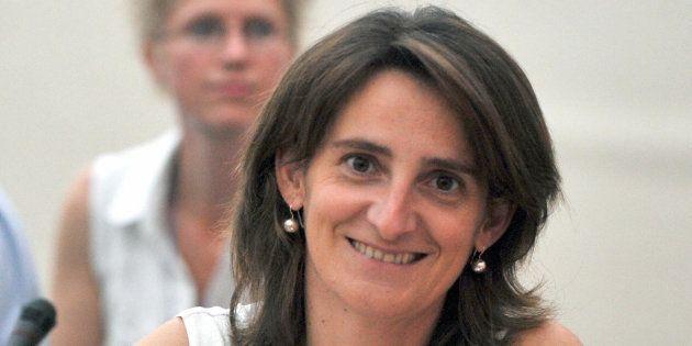 Teresa Ribera en una foto de cuando era secretaria de Estado de Cambio Climático en 2008 en