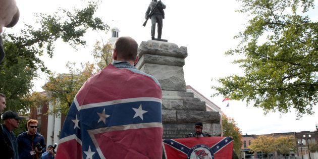 EEUU aún tiene 772 monumentos en honor a los confederados que lucharon a favor de la