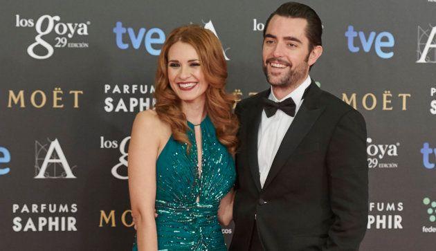Elena Ballesteros y Dani Mateo, en la alfombra roja de los Goya