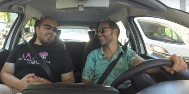 Ricardo Castella, Leonor Lavado, Pepín Tré... entrevistas divertidas en un coche