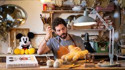 El artesano español que ha dado vida a las manos de Mickey