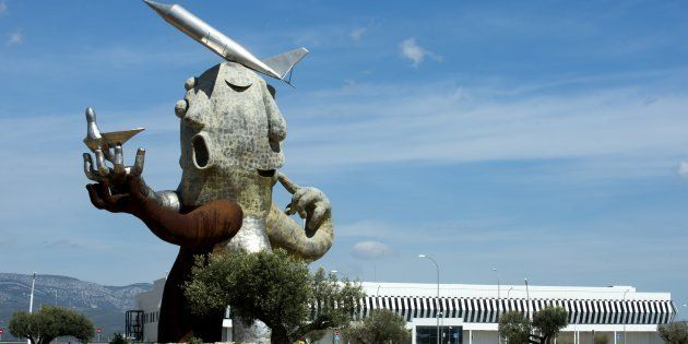 El aeropuerto de Castellón, fantasma durante años, uno de los ejemplos de construcciones mal planteadas....