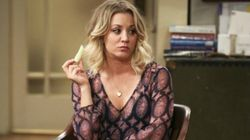 Kaley Cuoco arrasa con una escena de 'The Big Bang Theory' que nunca antes habías visto en