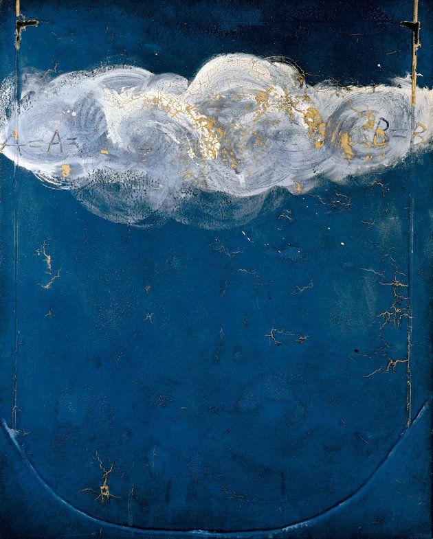 Blau emblemàtic (Azul emblemático). Antoni Tàpies, 1971
