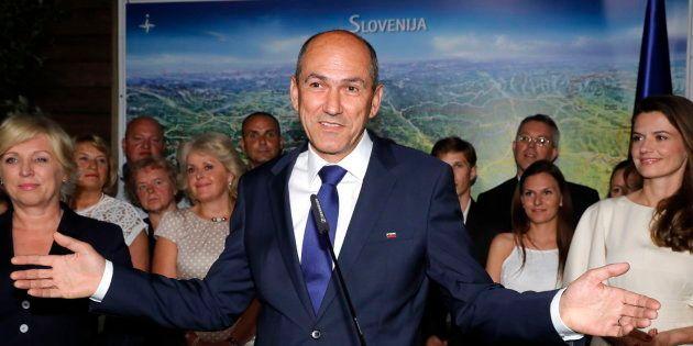 El ganador de las elecciones, Janez