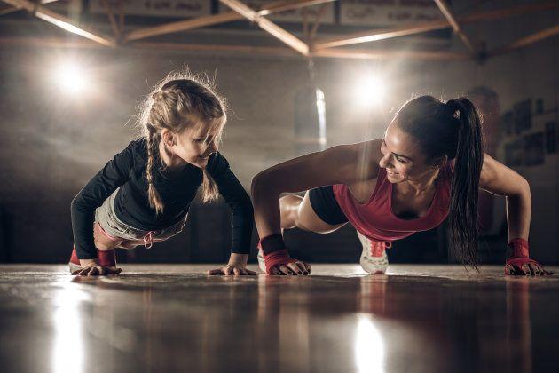 La importancia de criar a una hija fuerte y