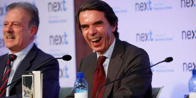 El expresidente del gobierno Jose María Aznar, este