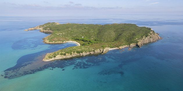 La isla menorquina de