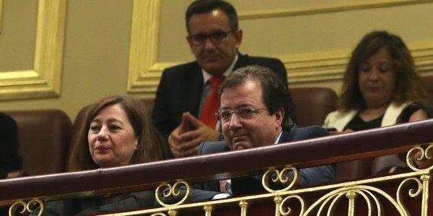 Vara durante el debate de la moción de censura contra