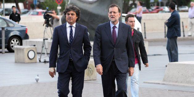 Jorge Moragas y Mariano Rajoy en una foto de