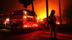 Los incendios más destructivos de la historia de California dejan 9 muertos y 35