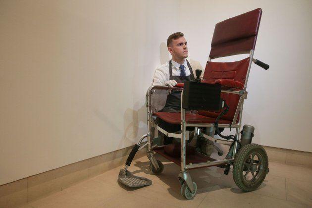La silla de ruedas de Stephen