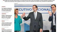 El vacío que deja Rajoy en el PP protagoniza las portadas de este
