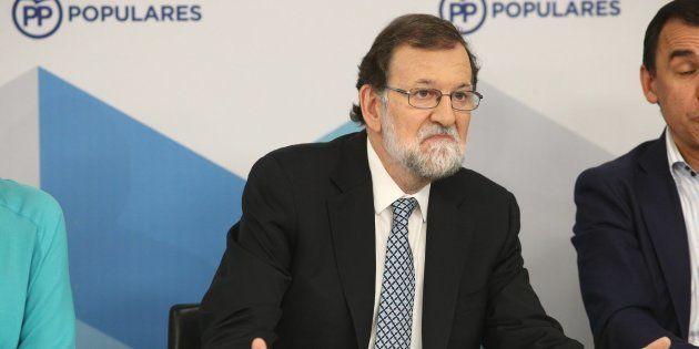 Imagen del pasado martes del expresidente Mariano