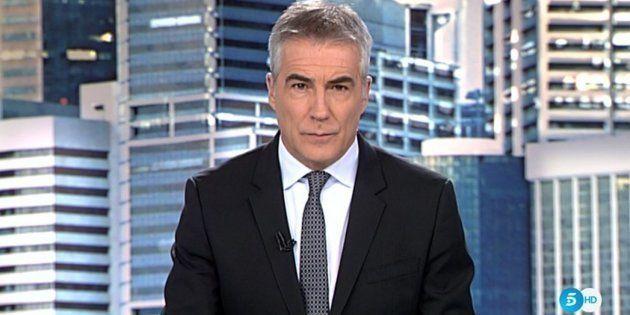 David Cantero, presentador de Informativos