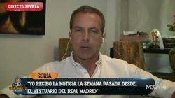 Un jugador del Real Madrid amenaza con demandar a Cristóbal Soria, de 'El