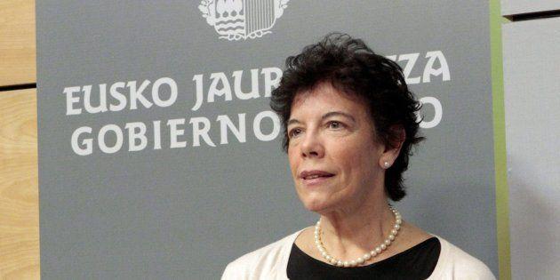 Imagen de archivo (05/12/2012), de la exconsejera de Educación del Gobierno Vasco con Patxi López, Isabel