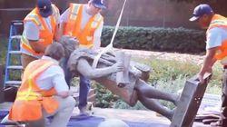 La ciudad de Los Ángeles (EEUU) retira una estatua de Cristóbal