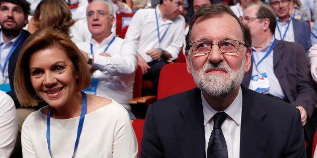 Mariano Rajoy y María Dolores de