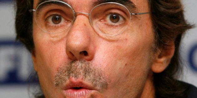 José María Aznar, en una imagen de