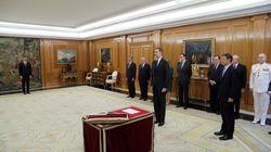 Toma de posesión de los nuevos ministros: un acto