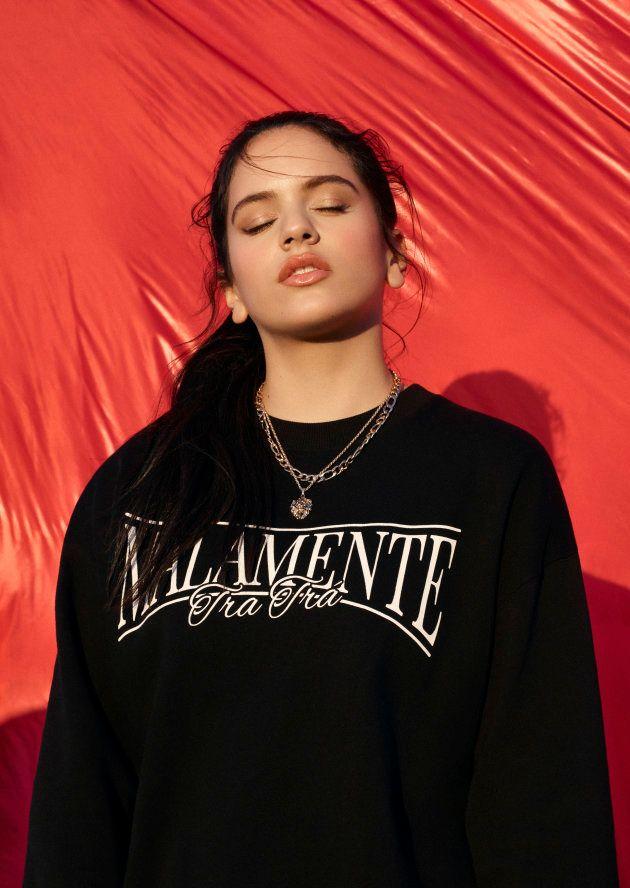 Rosalía, en una imagen promocional de la colección de