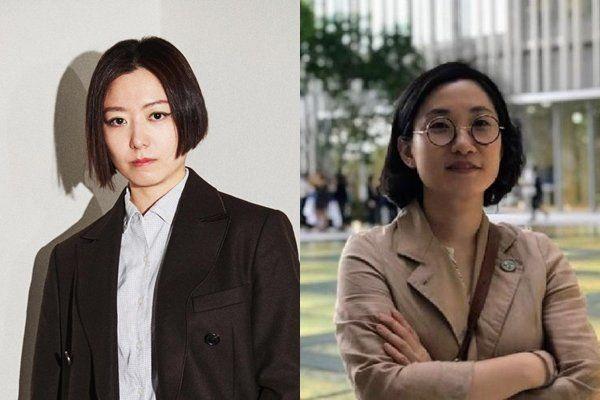 김아영(좌),