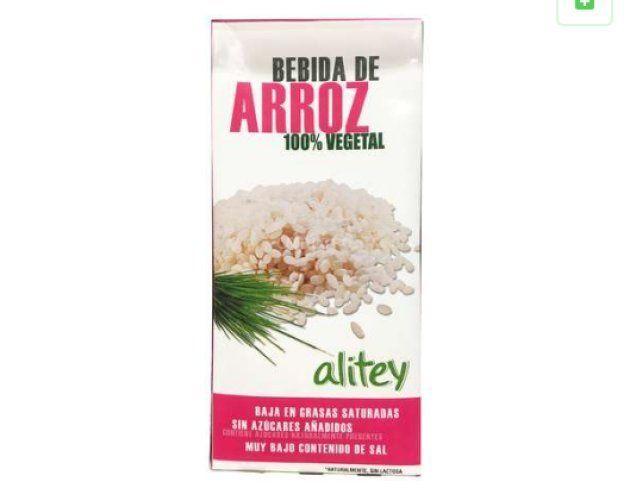 Un ejemplar de la bebida de arroz
