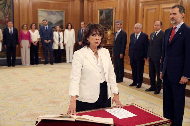 La titular de Justicia, Dolores Delgado, promete su