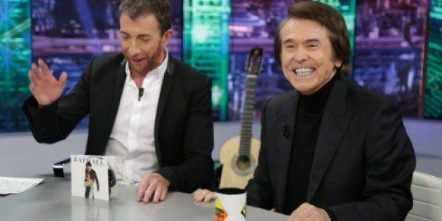 Raphael y Pablo Motos en El