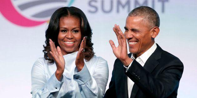 Los Obama en una imagen de