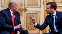El muy desafortunado comentario de Trump sobre Macron en pleno aniversario de los atentados de