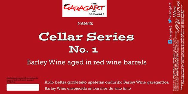 Etiqueta barley wine